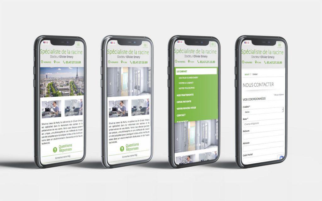 Version mobile - Responsive