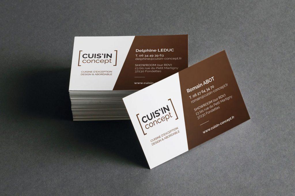 Cuisin'Concept - Cartes de visite