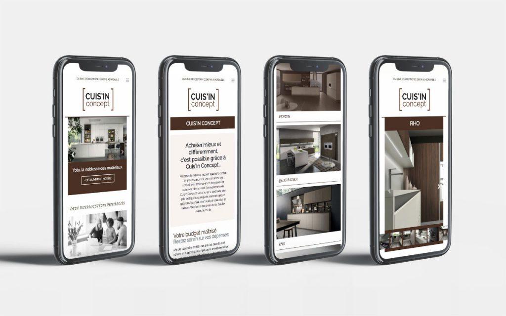 Version responsive mobile