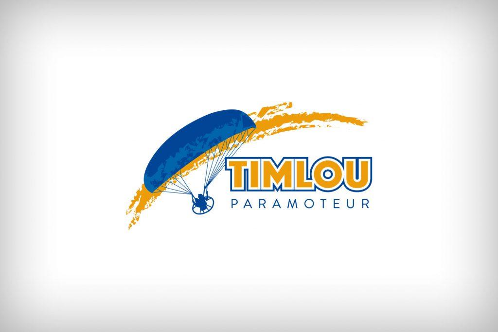 Création du logo - TIMLOU Paramoteur