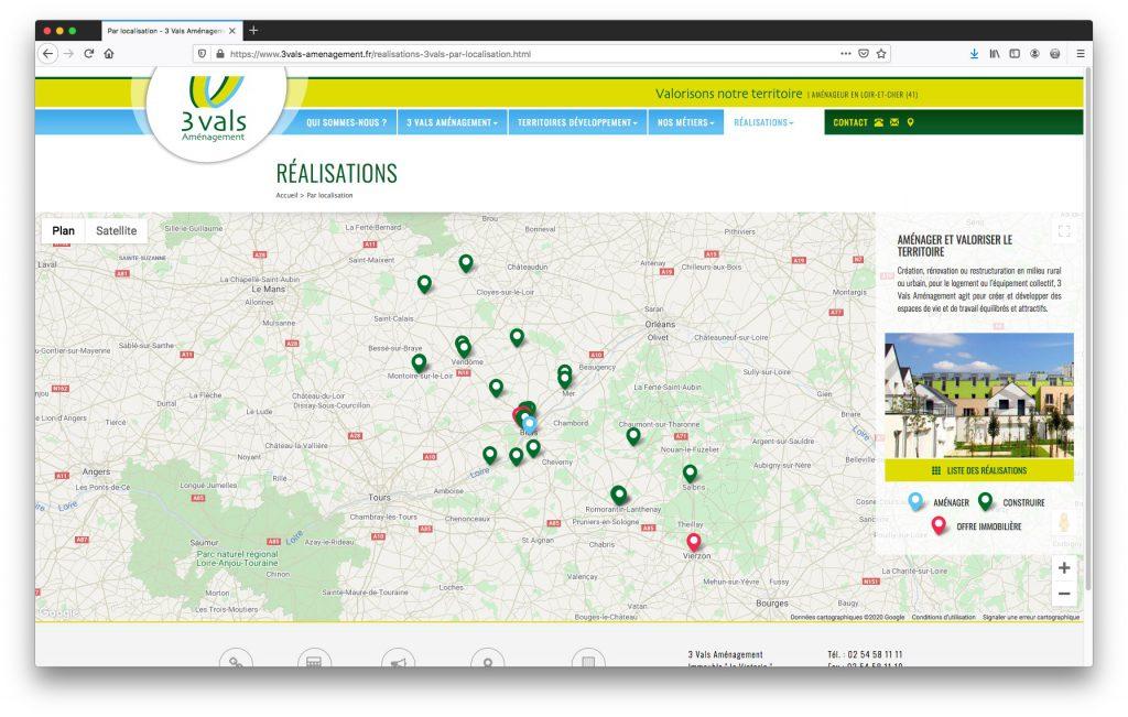 Cartographie Dynamique Google Maps