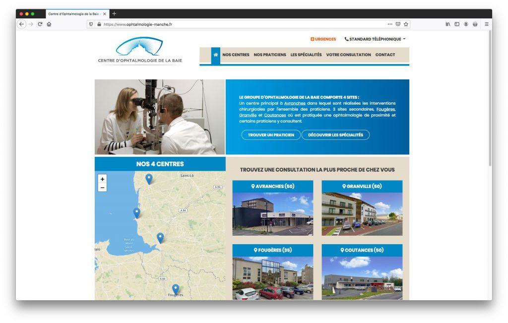 Page d'accueil - Centre d'opthalmologie de la Baie